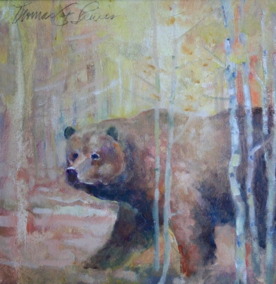 Bear in the trees