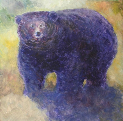 Fuzzy Black bear