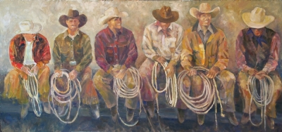 Cowboys Up (Artist Enhanced Giclee Print)