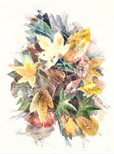 Turning leaves (S&N Giclee print)